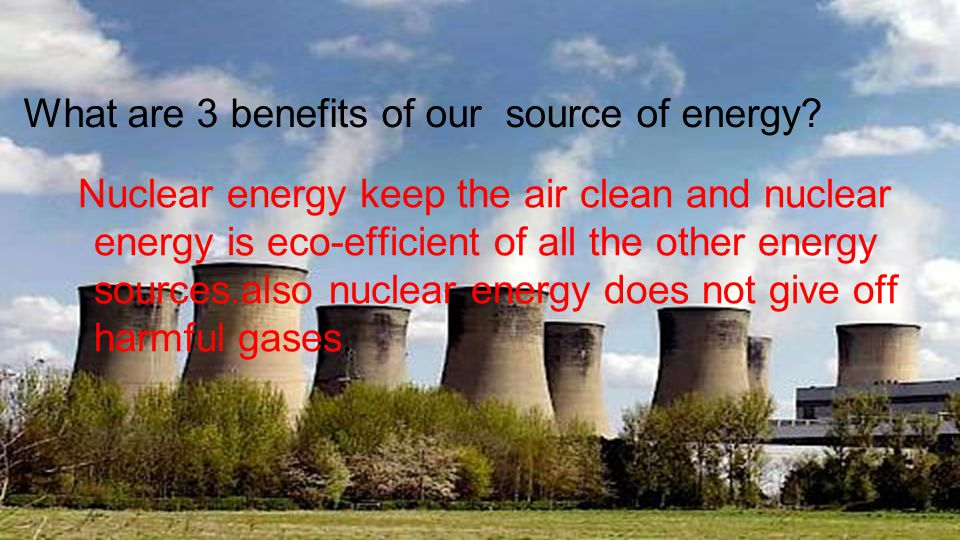 the different application and benefits of nuclear energy Nuclear power has many benefits over other energy sources, particularly older methods such as oil it is more efficient than these traditional sources of energy, and the raw materials needed to produce what are the different methods of nuclear waste disposal how can i maximize my chances of.