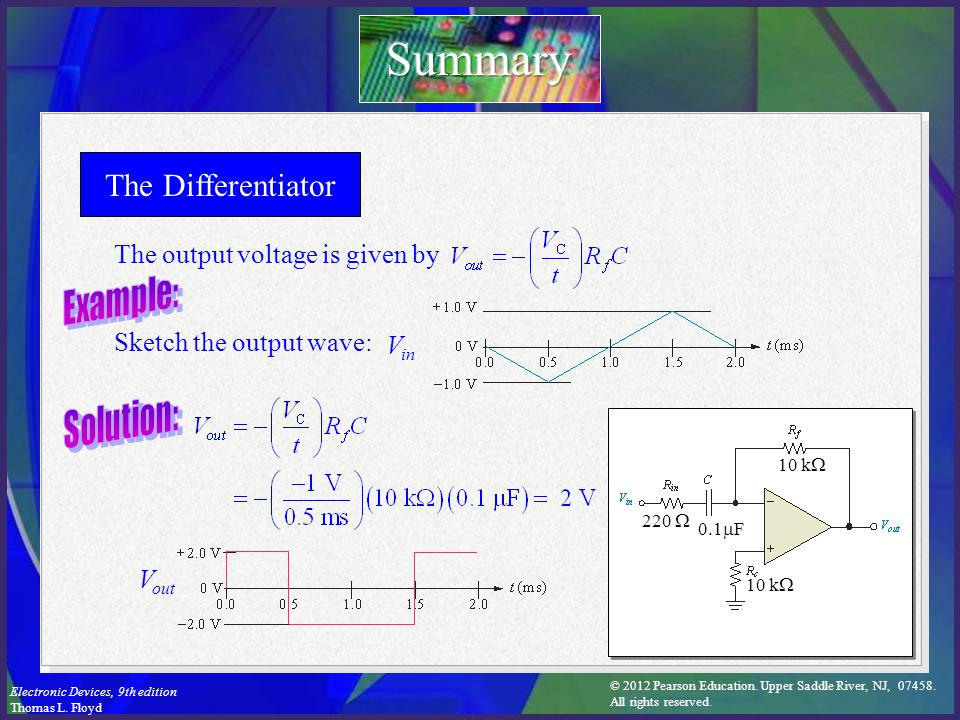 Electronic Devices Ninth Edition Floyd Chapter ppt video online download