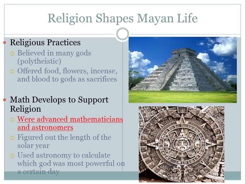Religion Shapes Mayan Life