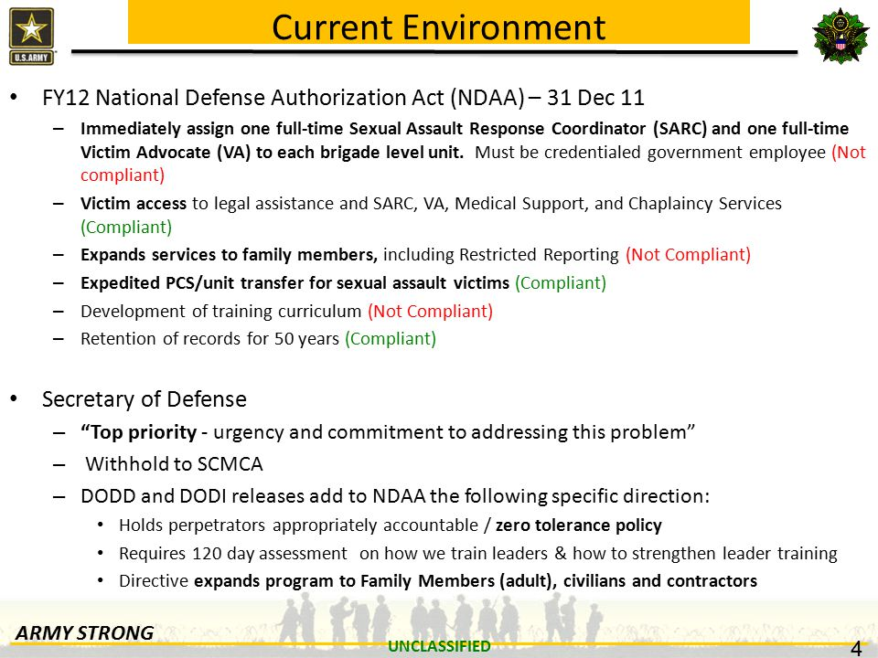 Unclassified G 1 Sexual Harassment Assault Response And Prevention