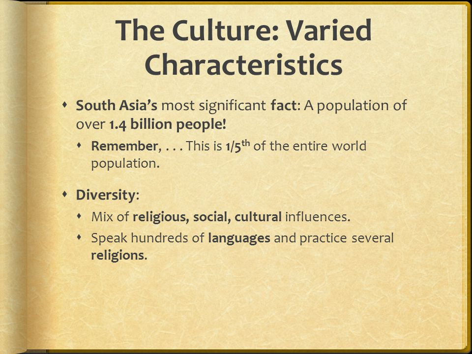 The Culture: Varied Characteristics