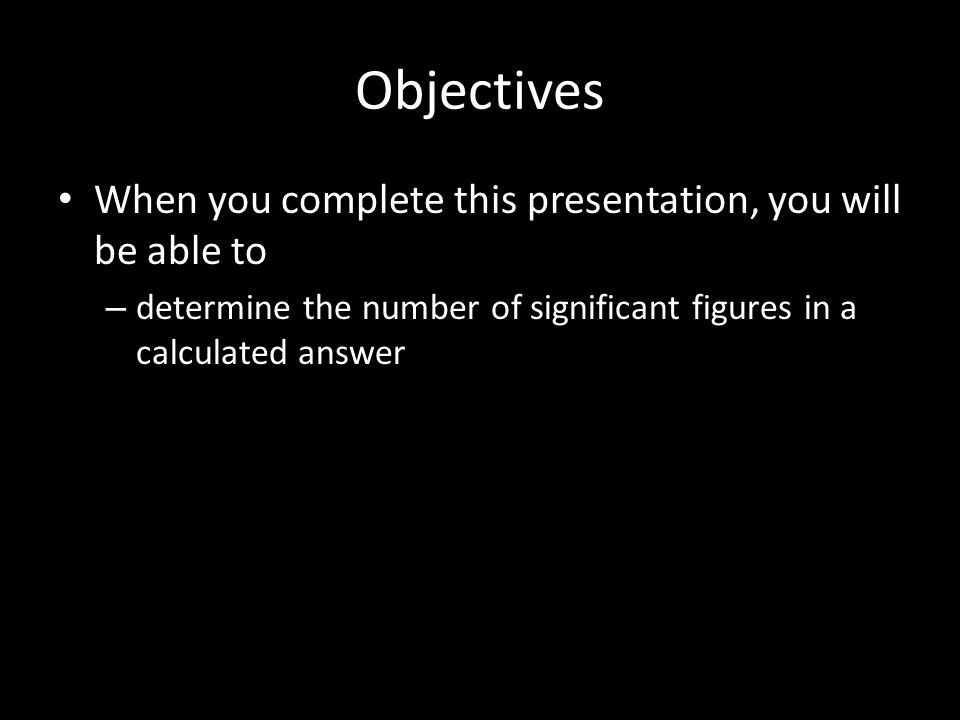 Significant Ures Part Ii Calculations Ppt Download. Significant Ures Part Ii Calculations 2 Objectives. Worksheet. Chem Skills Worksheet Significant Figures Calculations At Clickcart.co