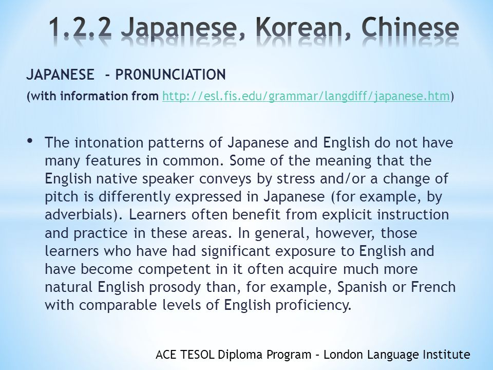 1 2 2 Japanese, Korean, Chinese - ppt video online download