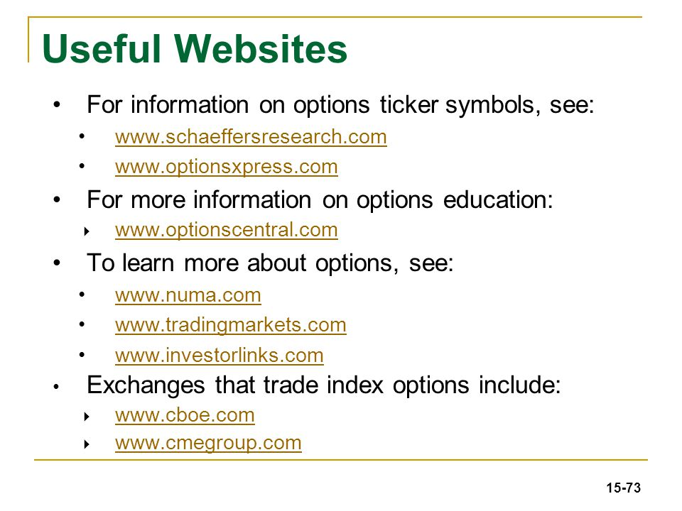 15 Stock Options Ppt Download
