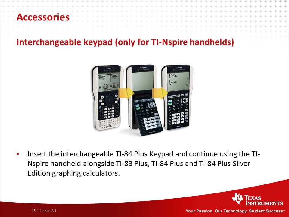 Concepts and value of TI-Nspire™ Technology - ppt video