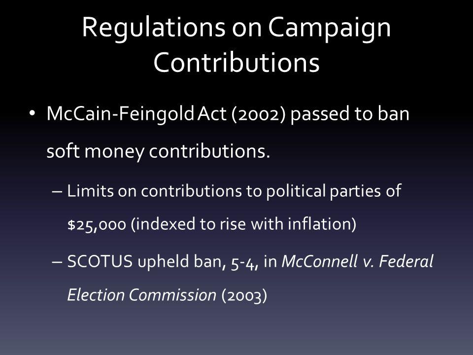 mccain feingold act ap gov