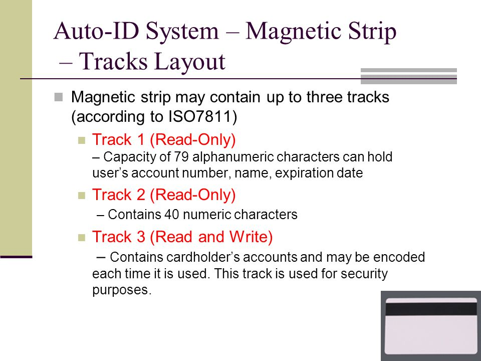 Automatic Identification System - ppt download