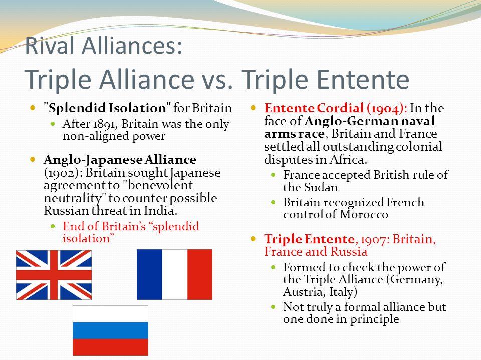 triple alliance and triple entente