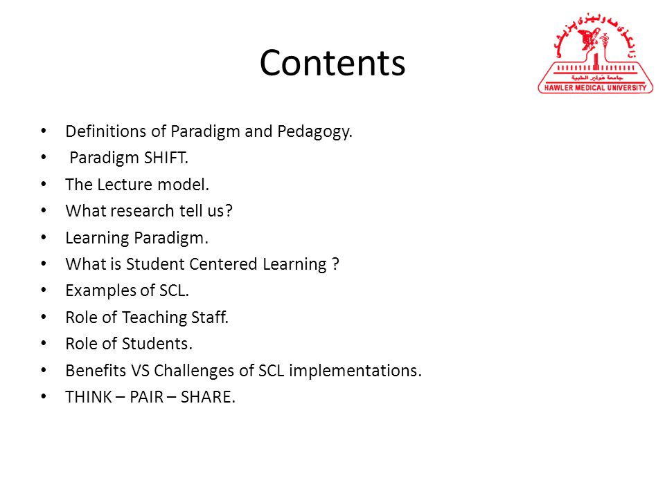 student centered learning examples
