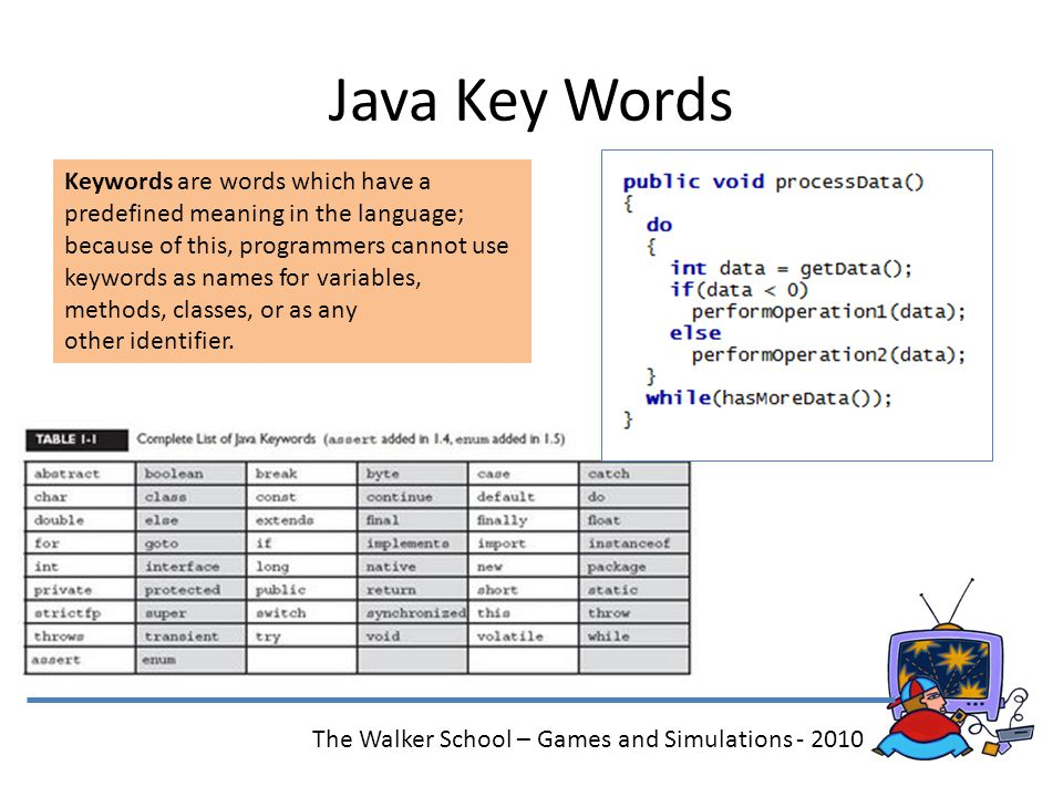 Games and Simulations O-O Programming in Java The Walker