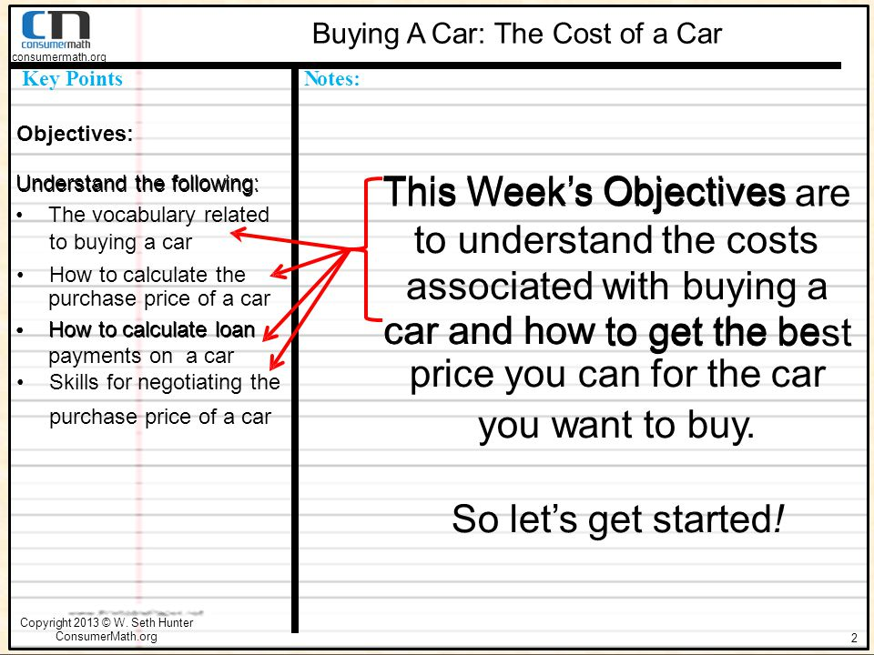 Steps In The Car Buying Process Ppt Download - Car buying strategies dealer invoice