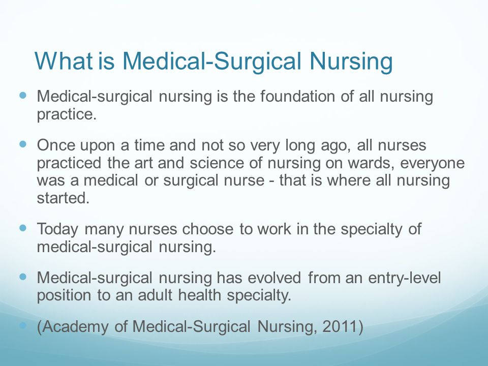 Introduction To Medical Surgical Nursing Ppt Video Online