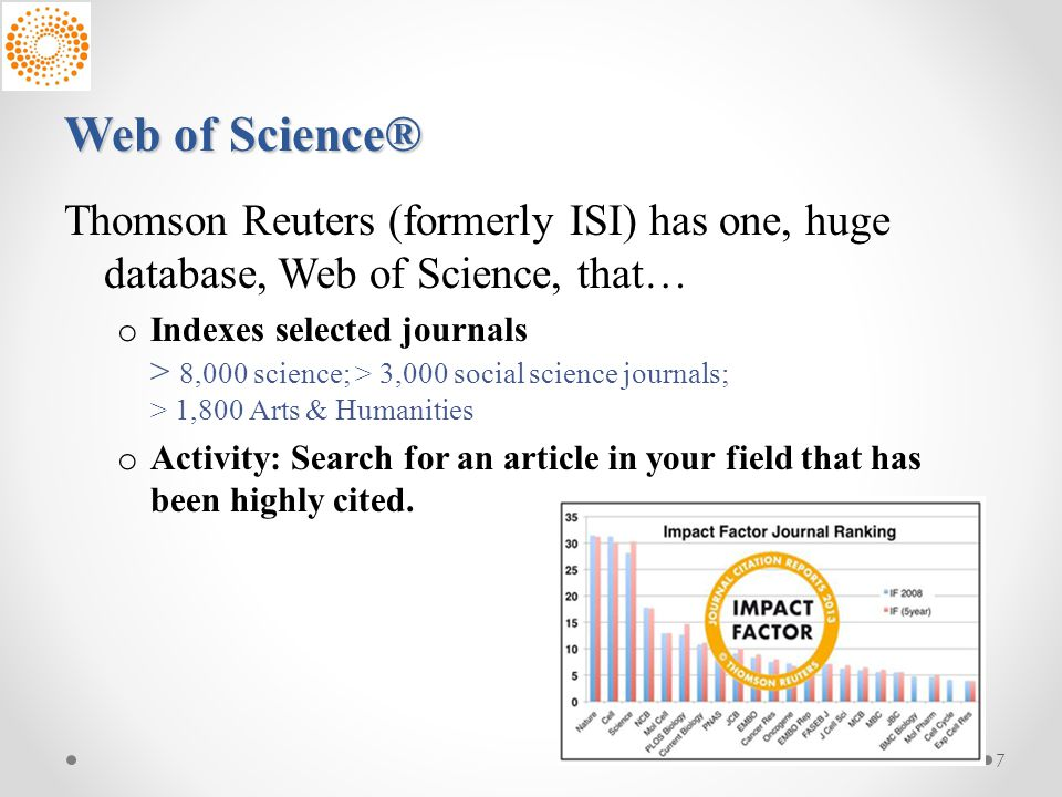 Journal Impact Factors and H index - ppt download