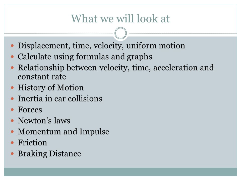 Grade 10 Physics In Motion Ppt Download