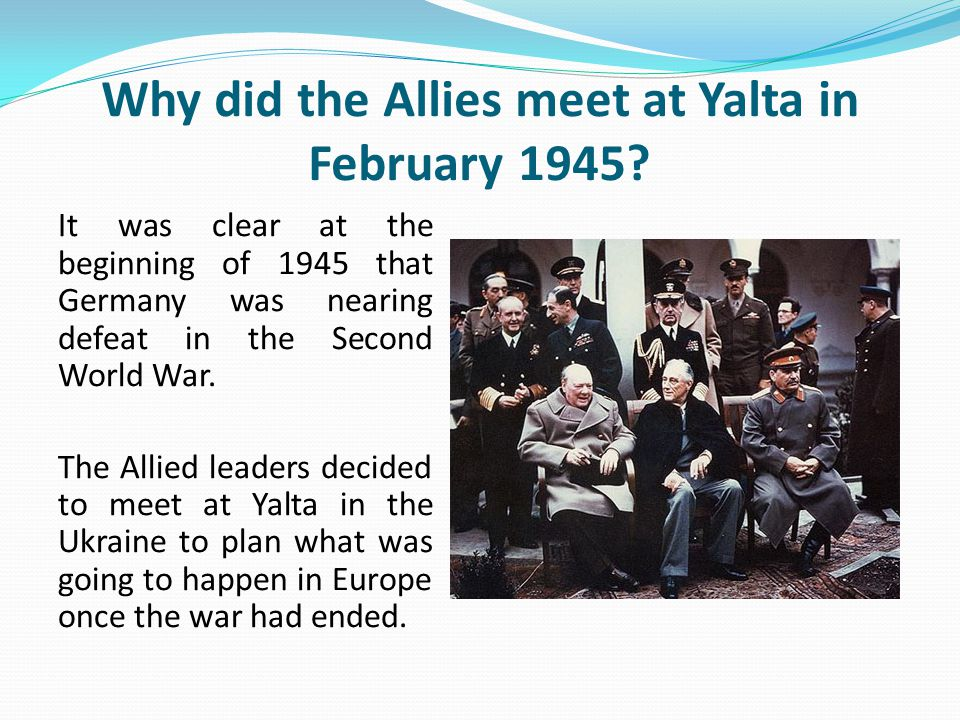 describe main differences betwen yalta and potsdam confere Similar to yalta, the conference at potsdam dealt with the issue of poland and tried to fine tune the it was agreed upon that germany shall be occupied by what the big three describe as a control even though the conferences at potsdam and yalta respectively, ended the war in europe, there.