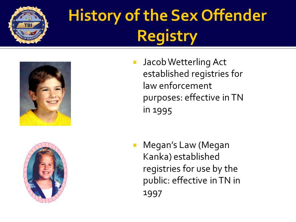 Tennessee Sex Offender Registry
