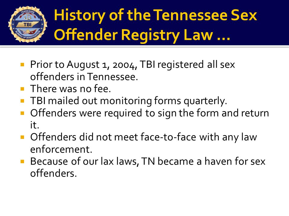 Sex offered laws tn