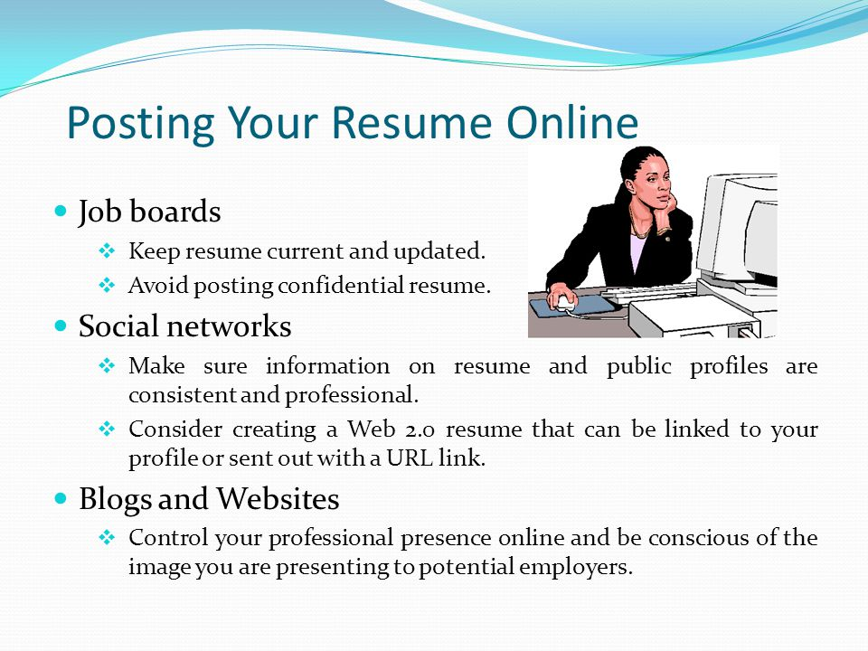 Posting Your Resume Online