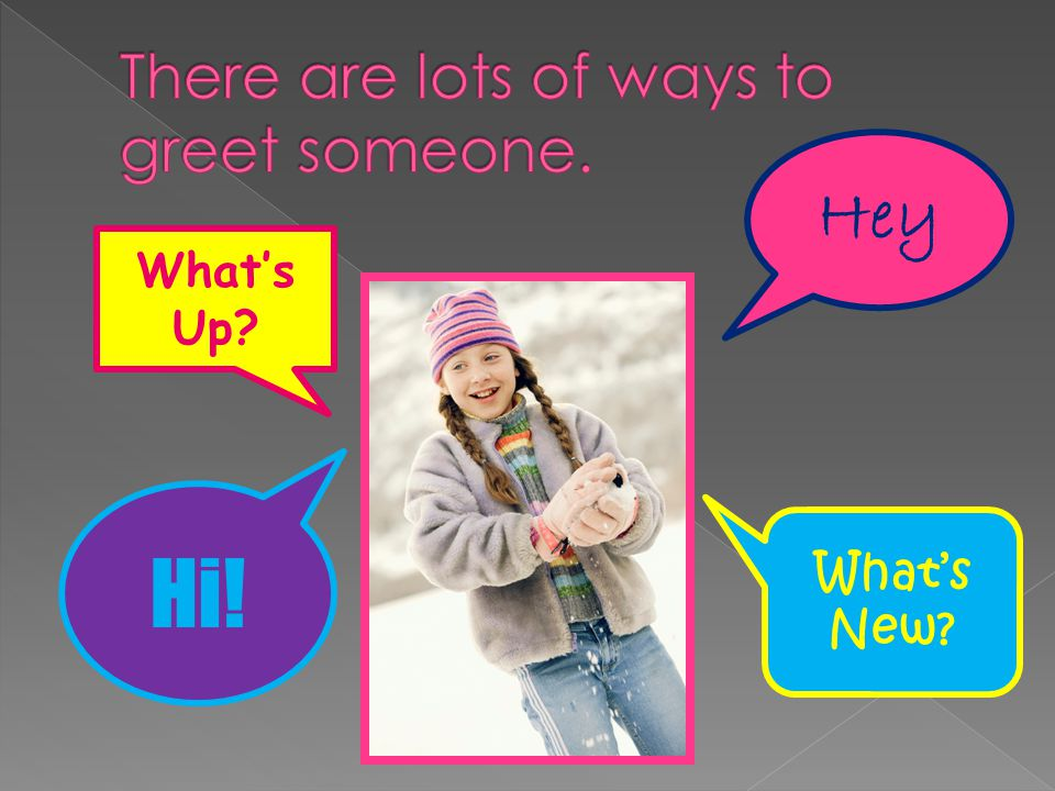 Hello goodbye ppt video online download there are lots of ways to greet someone m4hsunfo