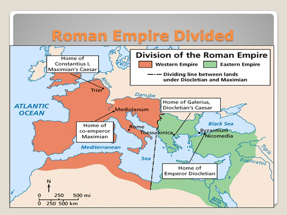 Roman Empire Divided