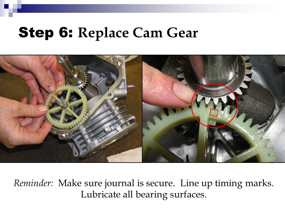 Small Engine Reassembly Briggs & Stratton OHV - ppt video online