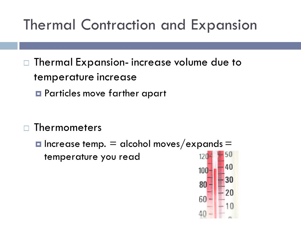 Thermal Contraction and Expansion