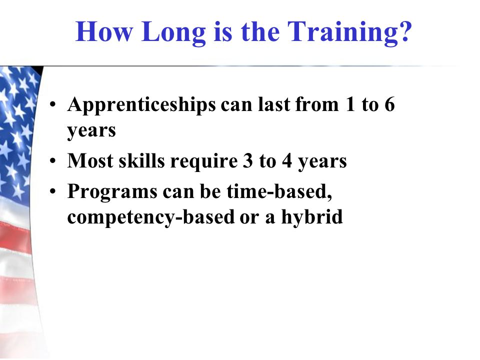 How Long is the Training