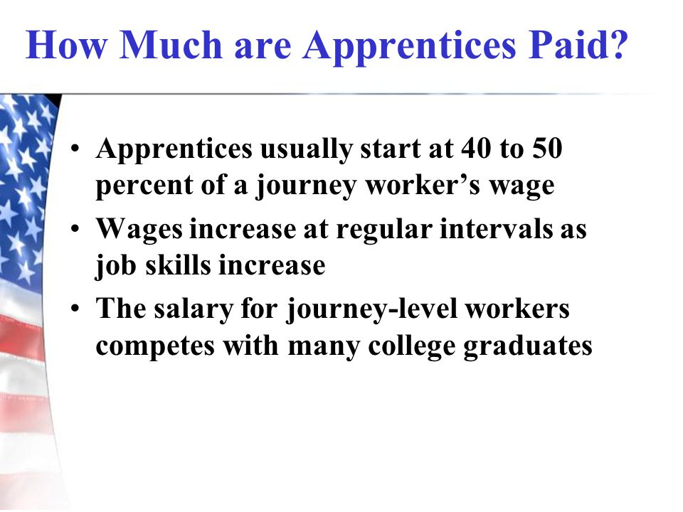 How Much are Apprentices Paid