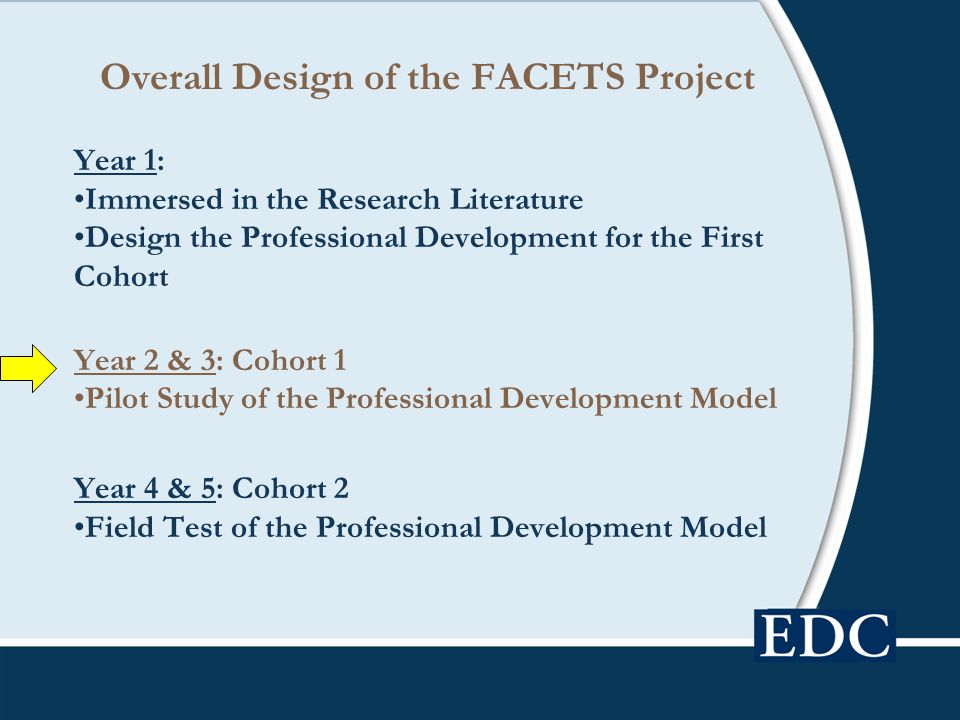 Overall Design of the FACETS Project