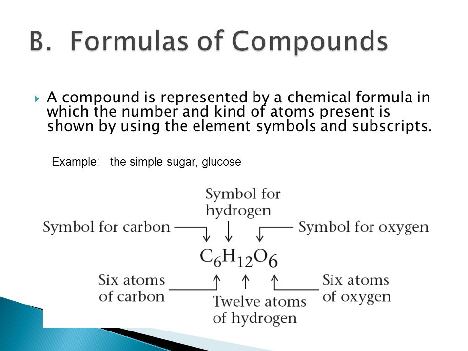 Chapter three chemical foundations elements atoms and ions ppt 11 b formulas of compounds urtaz Images