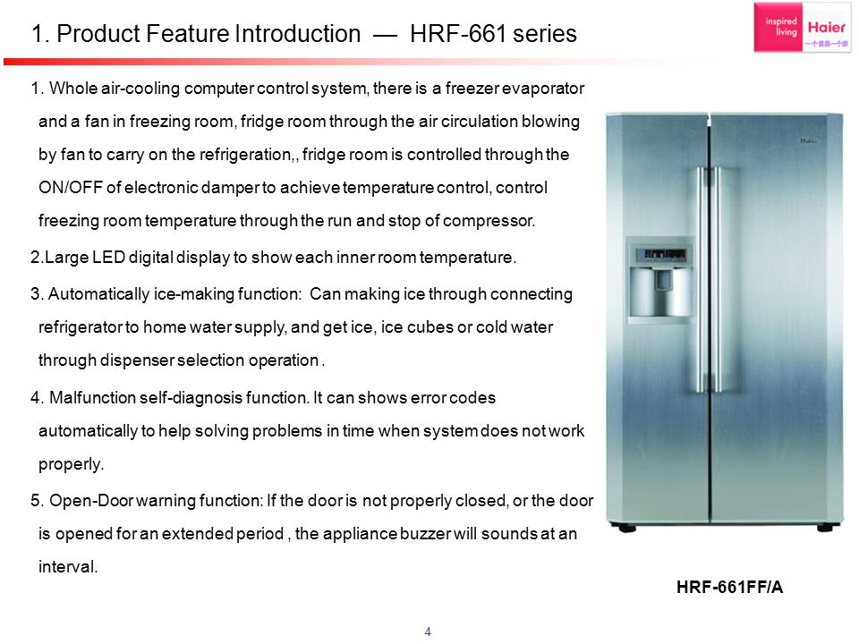 1. Product Feature Introduction — HRF-661 series