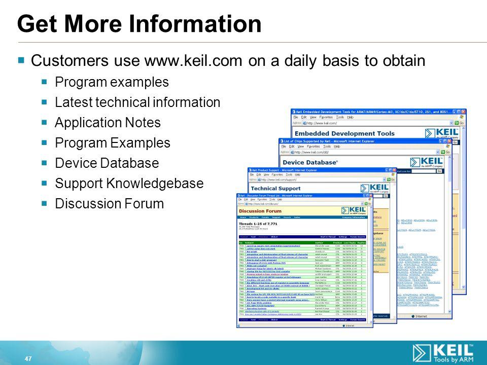 Keil Examples
