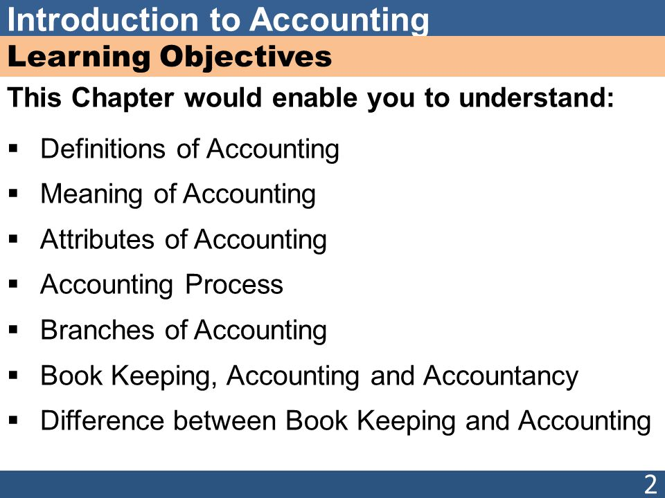 Chapter 1 Introduction To Accountings Ppt Video Online