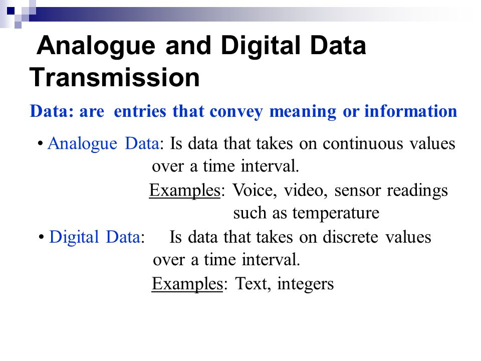 digital data transmission Simple data transmission will interfere with each other and make communication impossible instead, you can multiply each signal source with a different frequency (upconversion) before transmitting at the receiver, you can simply bring it back to base frequency (downconversion) to retrieve data.