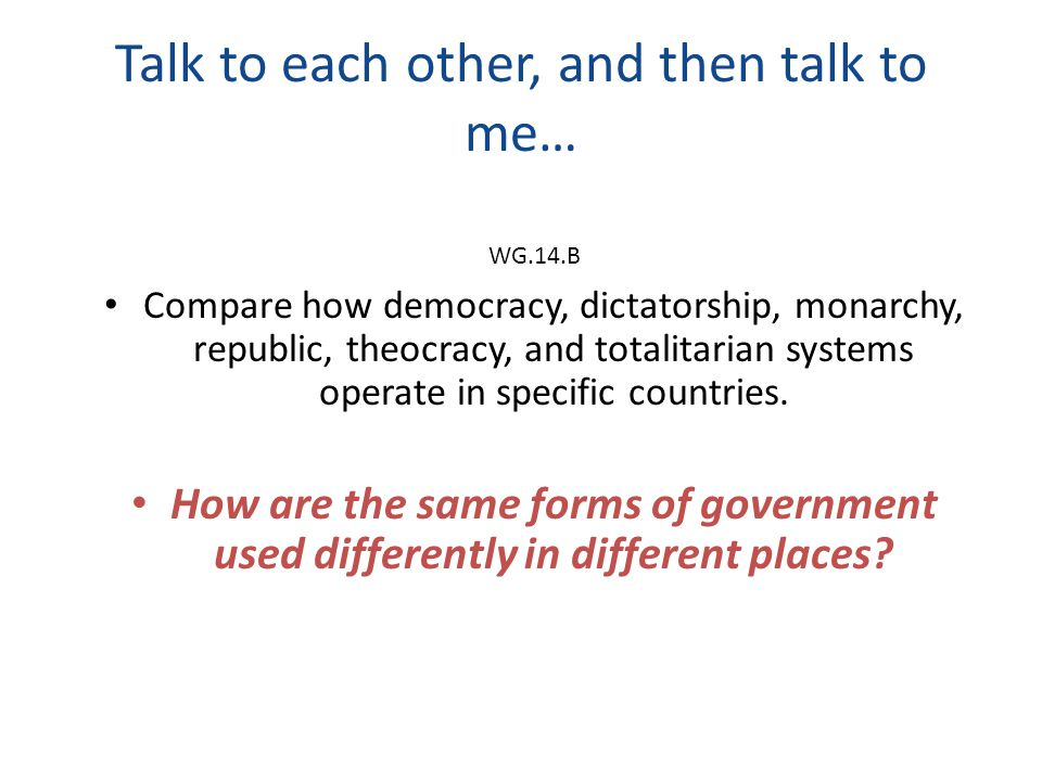 difference between monarchy and democracy