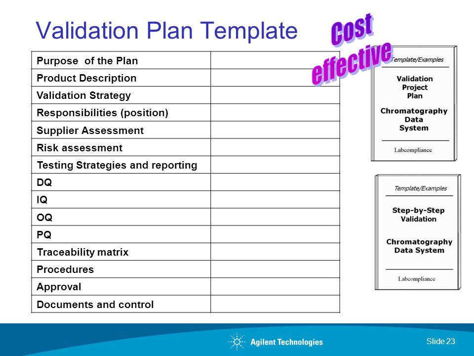 Validation Plan Template Erieairfair