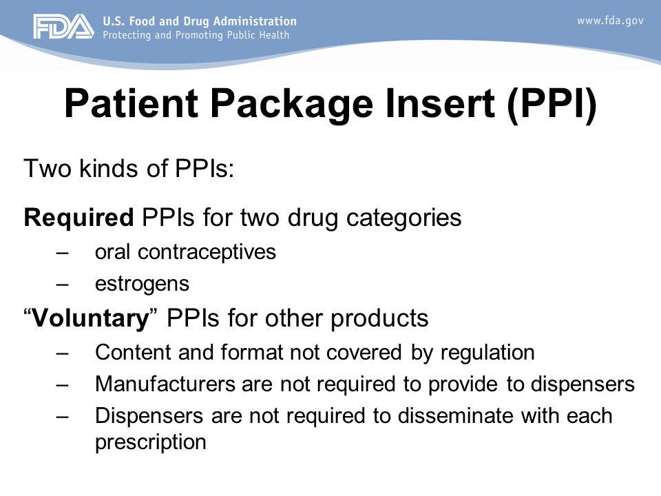 prescription drug information for patients history ppt download