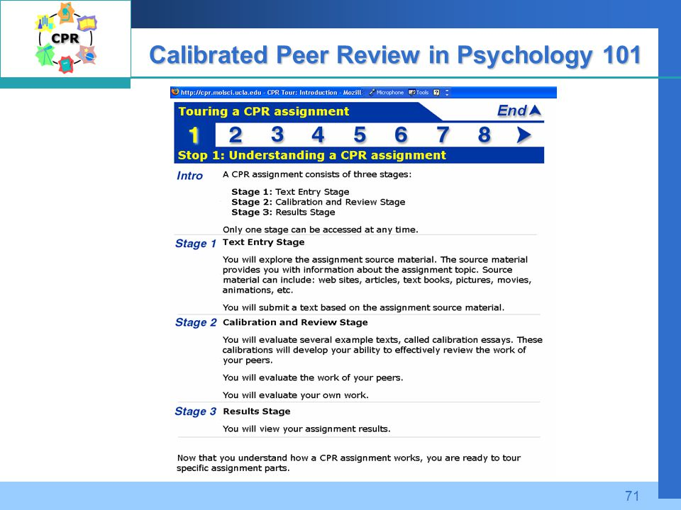 calibrated peer review pretest answers