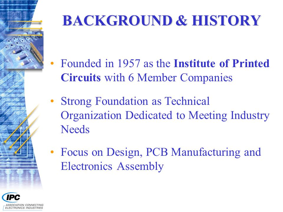 Serving the Printed Circuit Board and Electronics Assembly