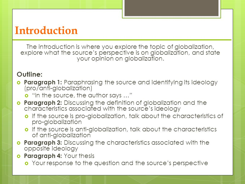 social   globalization   ppt video online download  introduction outline