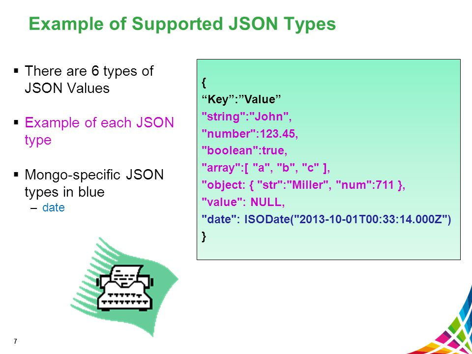 NoSQL, JSON and BSON Overview - ppt download