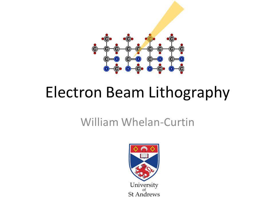 electron beam lithography
