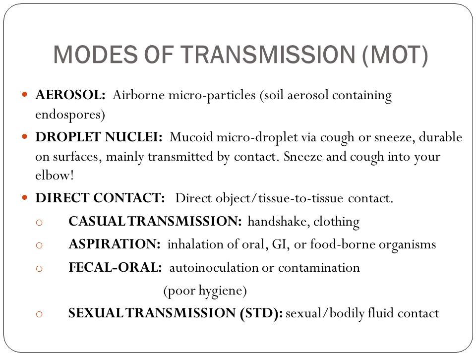 5 types of mode of transmission-2317