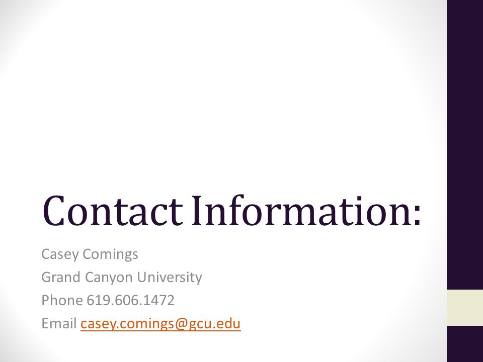 Casey Comings Admissions Representative Grand Canyon University ...