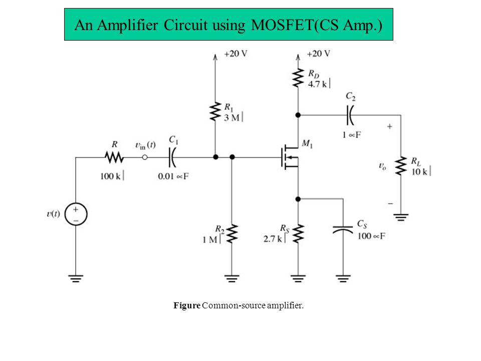 Mosfet Amplifier Circuit Using An Enhancement Mosfet | #1