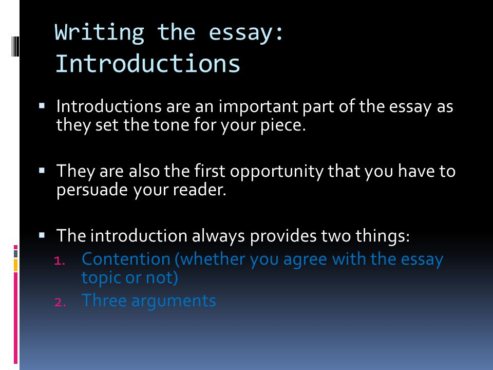 Short Essays For High School Students Writing The Essay Introductions Public Health Essays also Science And Religion Essay Introduction To Extended Text Response Structure  Planning  Ppt  Narrative Essays Examples For High School