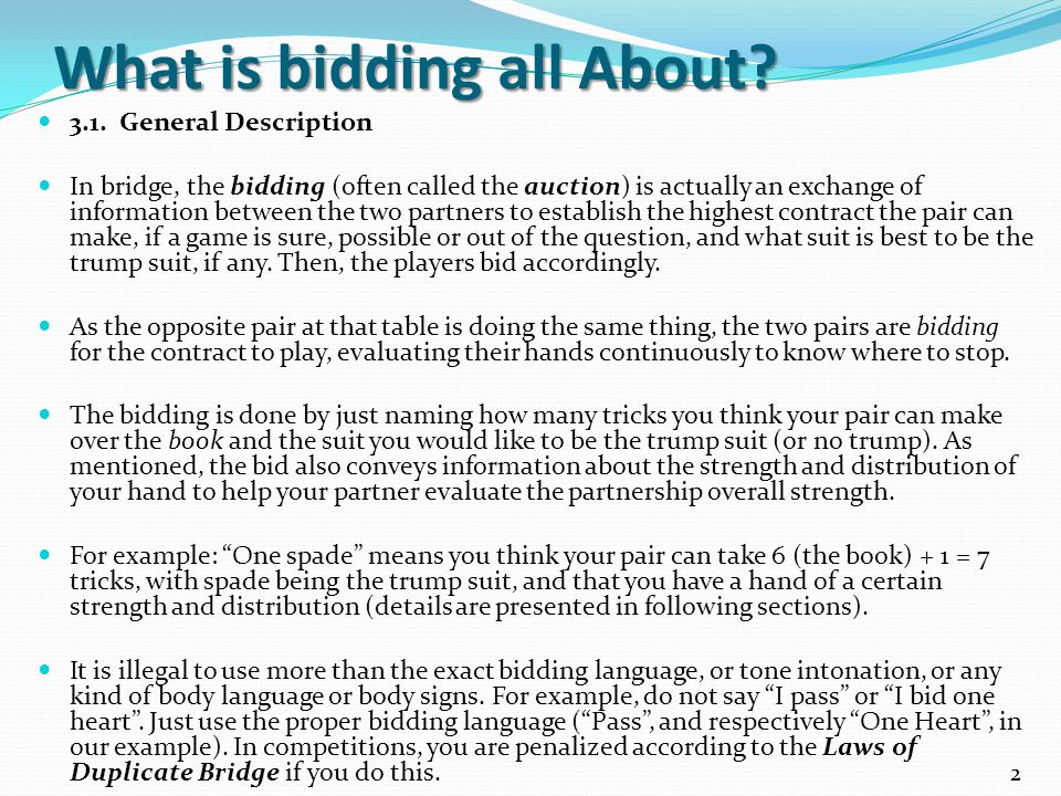 Jim Berglund's Bridge Lesson 3 - ppt video online download