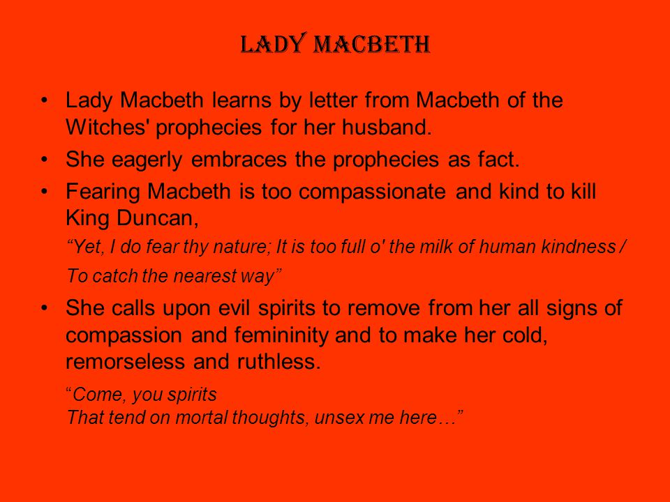 does shakespeare present lady macbeth as fiend-like? essay Shakespearean tragedy and lady macbeth  lady macbeth an essay on macbe lady macbeth in  macbeth and lady macbeth how does shakespeare present the.