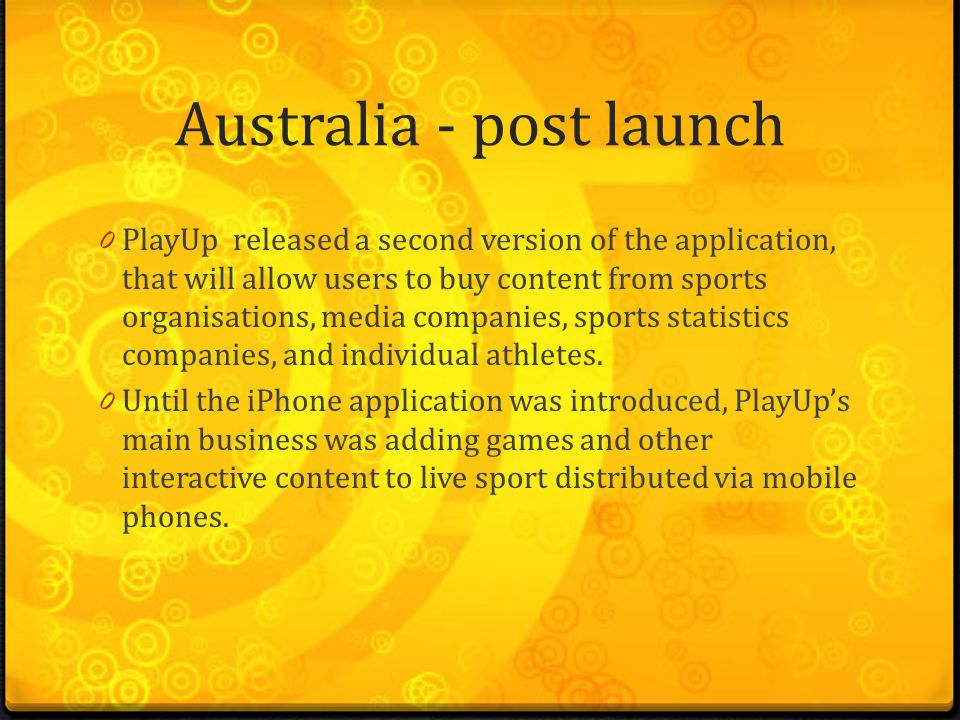 Research on PlayUp By Rahul M Kumar  - ppt download