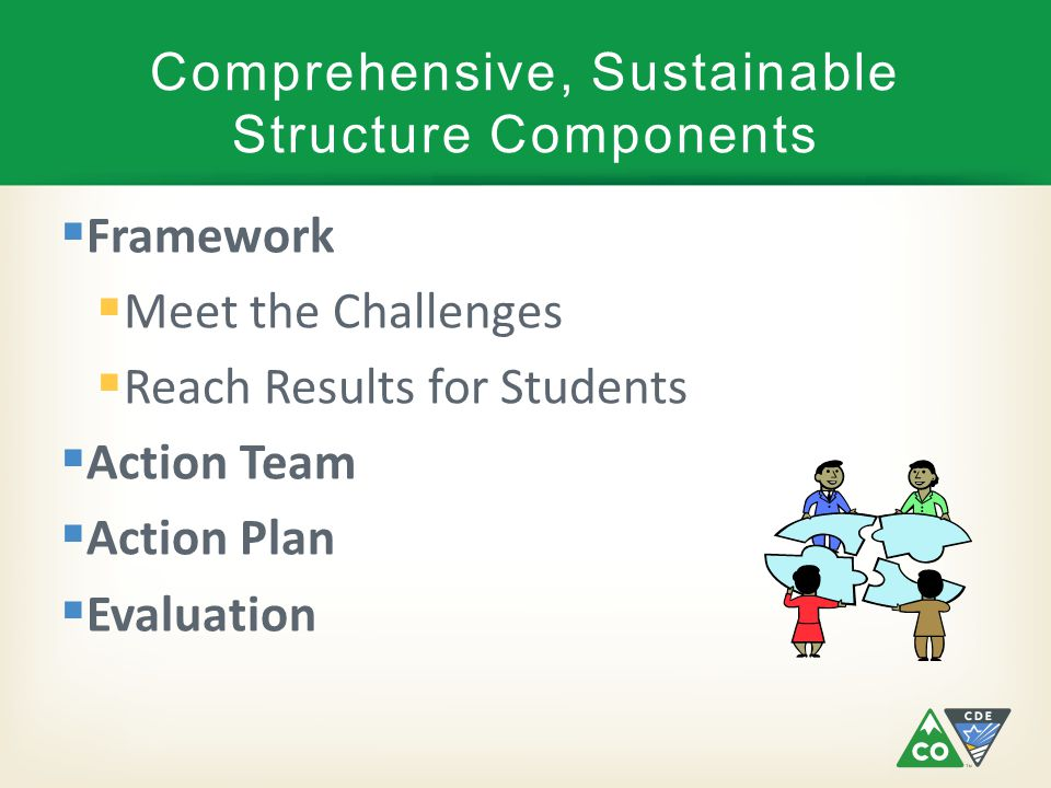 Comprehensive, Sustainable Structure Components